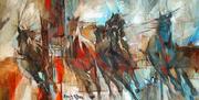 0057=Galloping Horses