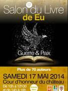 Salon du livre d'Eu - samedi 17 mai 2014