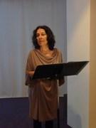 Martine Chifflot au Musée du Hiéron le 22 juin