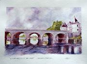 pont henriIV paysage