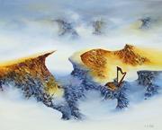 Douce Mélopée ( 81 x 65 ) Huile au couteau