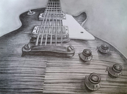 """""""Guitare Gibson, coupe n°3"""""""