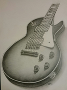 """""""Guitare Gibson, coupe n°1"""""""