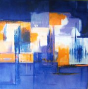 Art abstrait 50/50