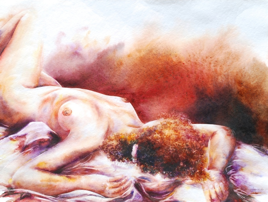 """Extase"" 60x45.2015"