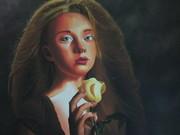La jeune fille et la rose