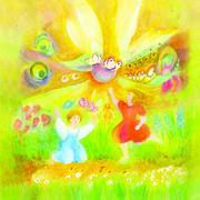 Danse au jardin des papillons