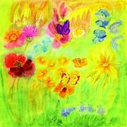 Papillons et fleurs -la collection