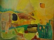 EQUINOXE, huile s toile 70x50, 2015