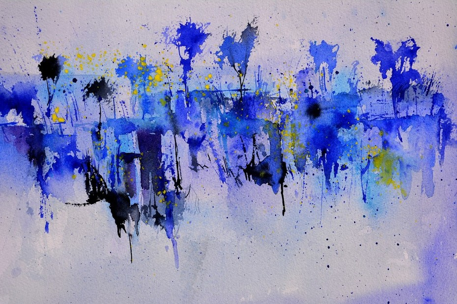 aquarelle abstraite  512101