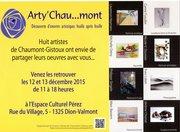 Exposition Arty'Chau...mont 2015