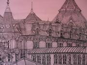 Hôtel Disneyland          50cm/50cm