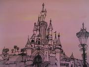 Le château d' Aurore          24cm/30cm
