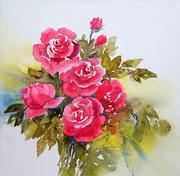 Roses en Decembre - un peu de couleur