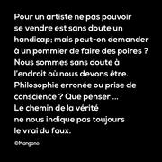 Philosophie d'artiste