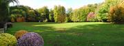 Panorama automnal au Jardin botanique de Meise.