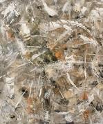 Série TRACES   FRAGILITE  acrylique sur toile 54x65