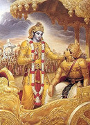 BG Krishna-Arjuna
