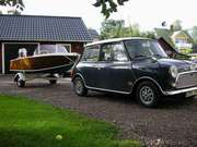 Liten båt liten bil