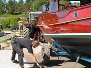 Sjösättning av Kantippa 09 013