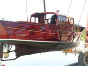 Sjösättning av Kantippa 09 019