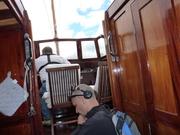 BBC inspelning ombord på M/Y Eystra