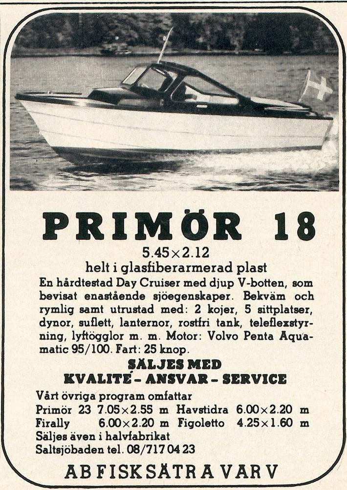 Annons Fisksätra Primör
