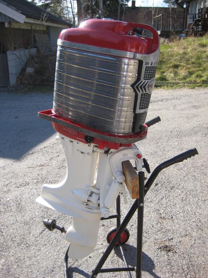 Mercury Mark 78 SS-1958 Renoverad + Godis 2012-04-27