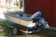 Sjösättning 2012 av Crescent sportbåt