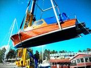 Sjösättning M/Y Zorina - 11 Maj 2013