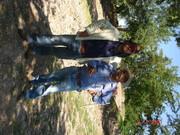 Con Guillermo Ahuja en Tamtoc