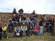Alumnos UAZ en la Quemada Zac.