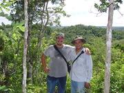 Beto y yo en Ichkabal
