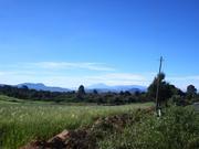 Vista desde entrada Sierra de las Navajas