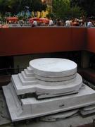 Restauración del templo de Ehecatl Pino Suarez