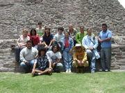equipo de trabajo de Tenayuca I y equipo del PET
