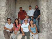 Visitando la Bóveda del Templo IV de Tikal