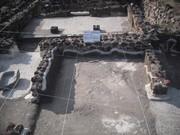 área porticada del cuarto 4 en el barrio de La Ventilla en Teotihuacan