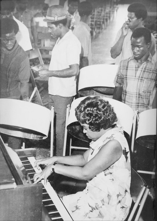 Winifred Atwell & Pan Am North Stars Steel Orchestra