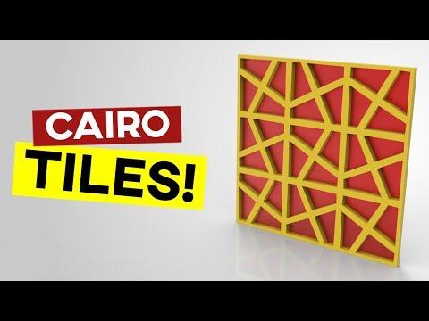 Grasshopper Mesh+ (Cairo Tessellation)