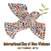 October 2nd - International Day of Non-Violence