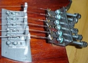 Headless guitar tuners