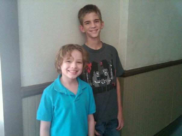 Maxim and Mason