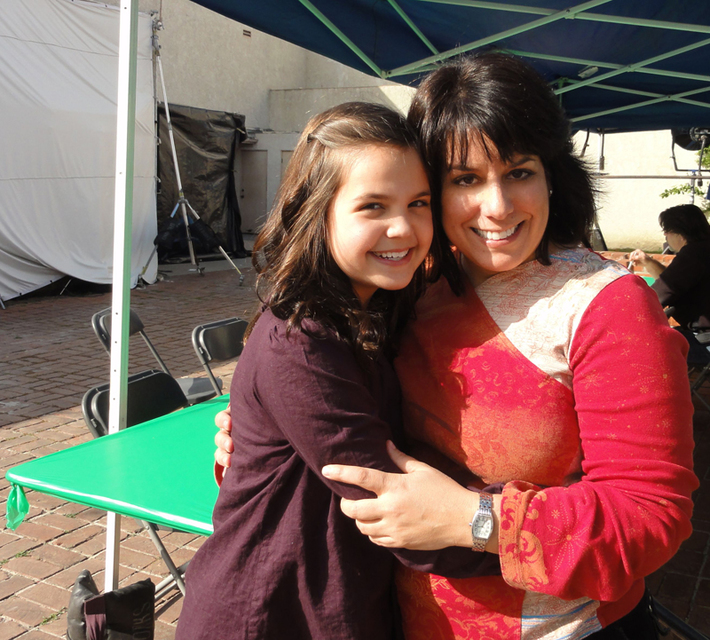 Bailee Madison and Julie