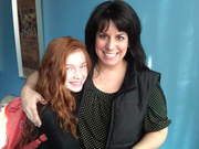 Annalise Basso and Julie Stevens