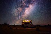 Foto: Via Láctea vista da Terra !