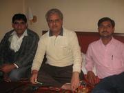 कलकत्ते में रवि 'गुरू' के साथ मुलाकात