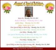 Bouquet of special Birth Day Mr LAXMAN PRASAD LADIWALA