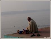 Meditation @ Lal Ghat Banaras