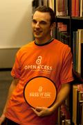 OA@Pitt t-shirt and Frisbee